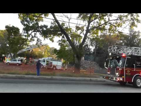 Old House Fire in Oaks, PA