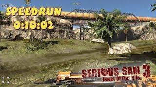 Serious Sam 3: Jewel of the Nile - SpeedRun - 0:10:02