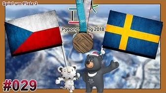 OLYMPIA 2018 EISHOCKEY [Deutsch/German] #029 - Tschechien - Schweden (Spiel um Platz 3) ★ Lets Play