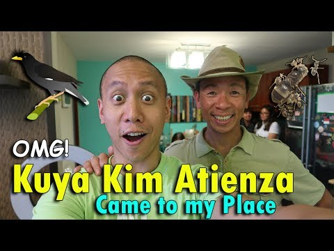 OMG! KUYA KIM ATIENZA CAME TO MY PLACE! | June 3rd, 2017 | Vlog #131