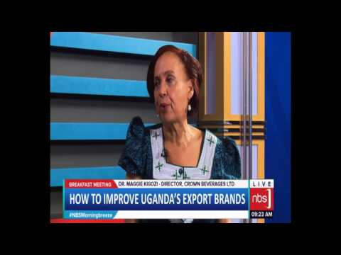 How to Improve Uganda's Export Brands (Maggie Kigozi, Martin Fowler)