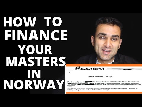 Financial Guarantee For International Students | BANK STATEMENT | Study in Norway
