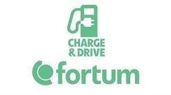 Slik hurtiglader du med Fortum Charge & Drive