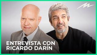 "Ricardo Darín y Jorge Fernández Díaz en ""Pensándolo Bien"""