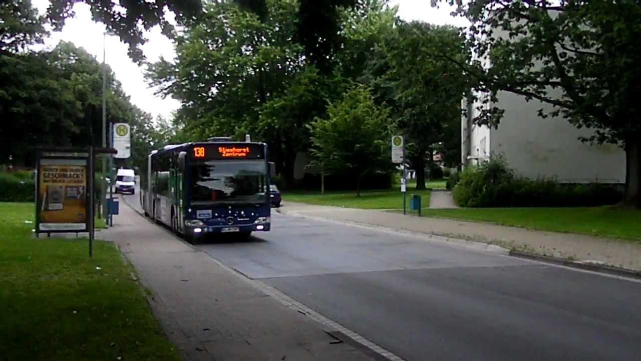 Stadtbus Bielefeld 138 Stieghorst Zentrum 7307 Youtube