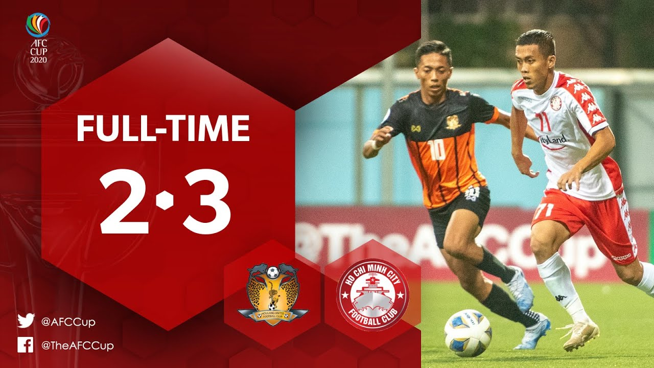 #AFCCup2020 : HOUGANG UNITED FC (SIN) 2-3  HO CHI MINH CITY FC (VIE) : Highlights