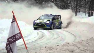 WRC Rally Sweden 2011 -  SS Rämmen 2  -  AEL Sweden Fans