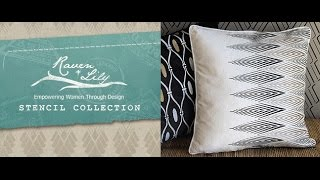 Raven + Lily Designer Stencils - Royal Design Studio Thumbnail