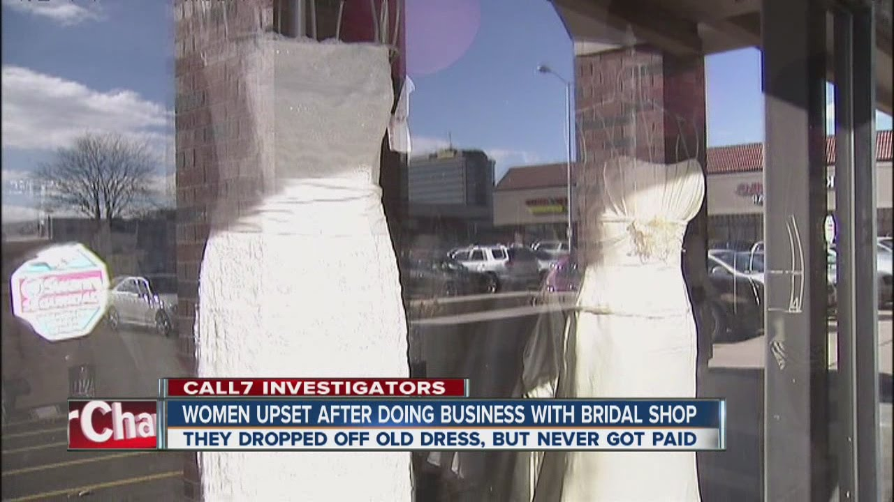 Bridal Consignment Shop Possible Scam Youtube