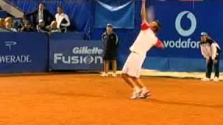 Tennis show at the BCR Open Romania, Ilie Nastase, Mats Wilander - Mansour Bahrami, Henri Leconte