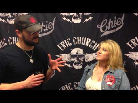 New Country 96.3 KSCS winner interviews Eric Church