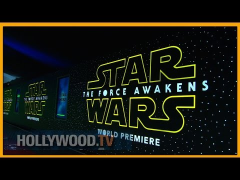Star Wars: The Force Awakens Premieres - Hollywood TV