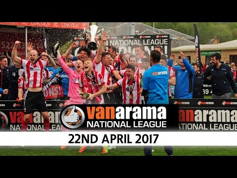 The Champions Are Crowned! - 22nd April 2017 | Non League News Flash