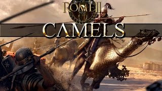 Total War Rome 2 Mechanics - Camel vs Horse Speed