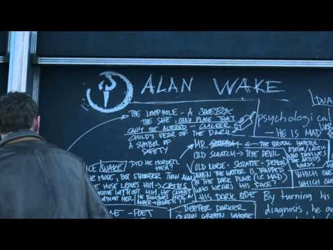 Quantum Break - Act 1-2: Jack Joyce ''Allan Wake, I Loved This Guy's Stuff'' Lecture Hall Easter Egg