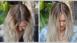 Sombre Root Smudge | My Hair Color!(WATCH IN HD for better quality! Accompanying blog post can be found HERE: http://www.alexsismae.com || FULL FORMULA ON MY BLOG LINKED ABOVE ..., 2015-05-21T13:26:13.000Z)