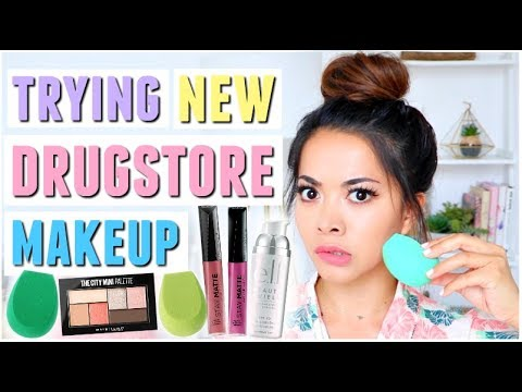Testing NEW Affordable Makeup | What's New At The Drugstore?!