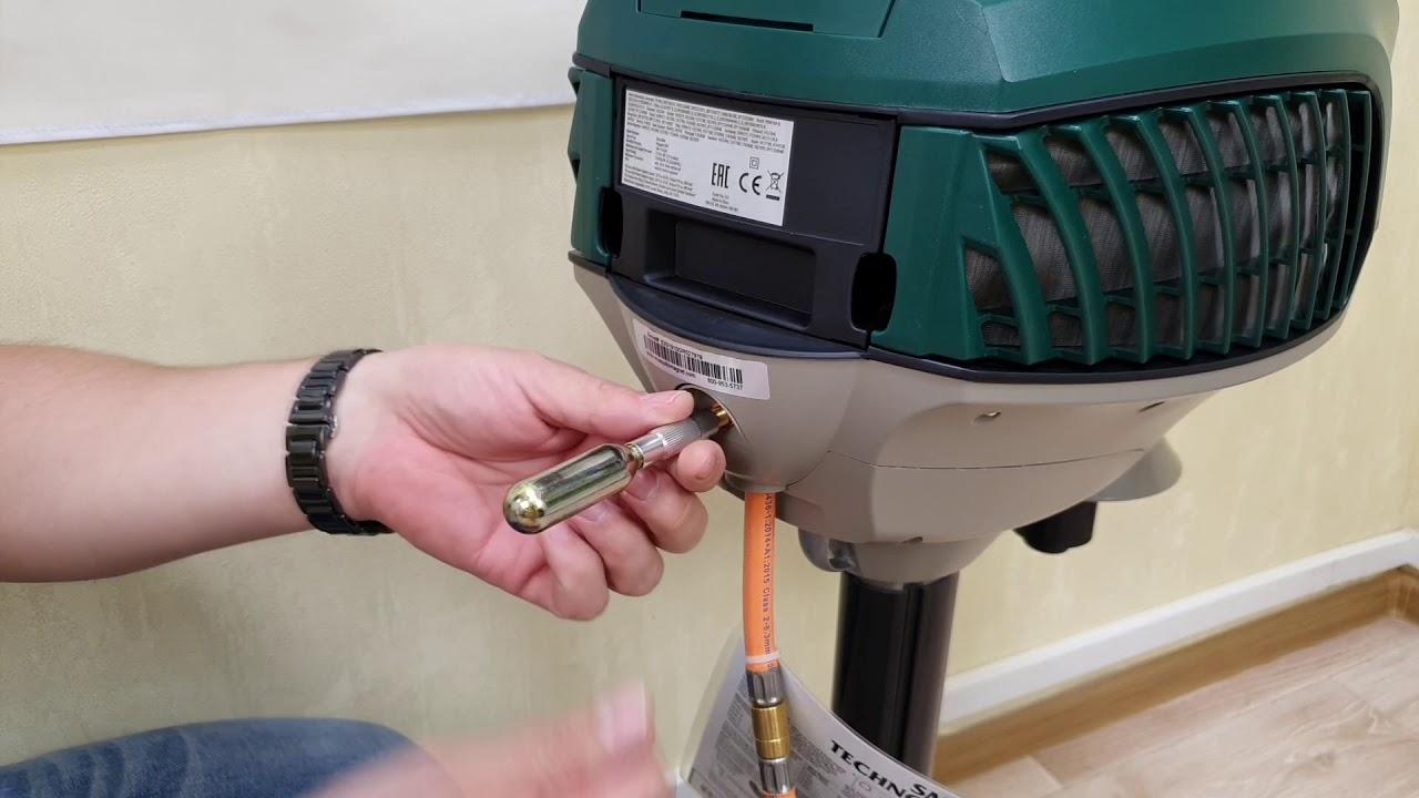 Инструкция по продувке/прочистке баллончиками приборов Mosquito Magnet (каждый 21 день)