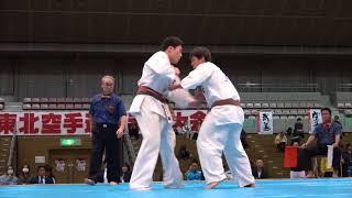 2017年11月5日、福島市国体記念体育館にて開催された第34回東北空手道選...