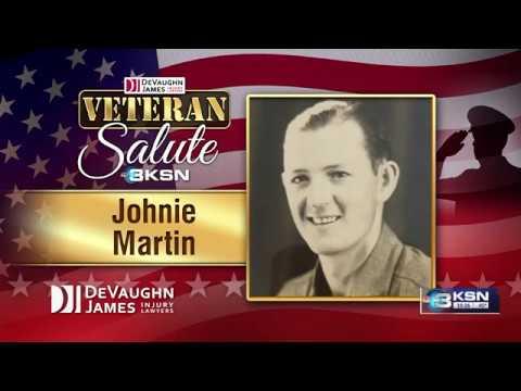 Veteran Salute: Johnie Martin
