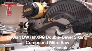 Dewalt DW717XPS Heavy-Duty 10inch (254mm) Double-Bevel Sliding Compound Mitre Saw