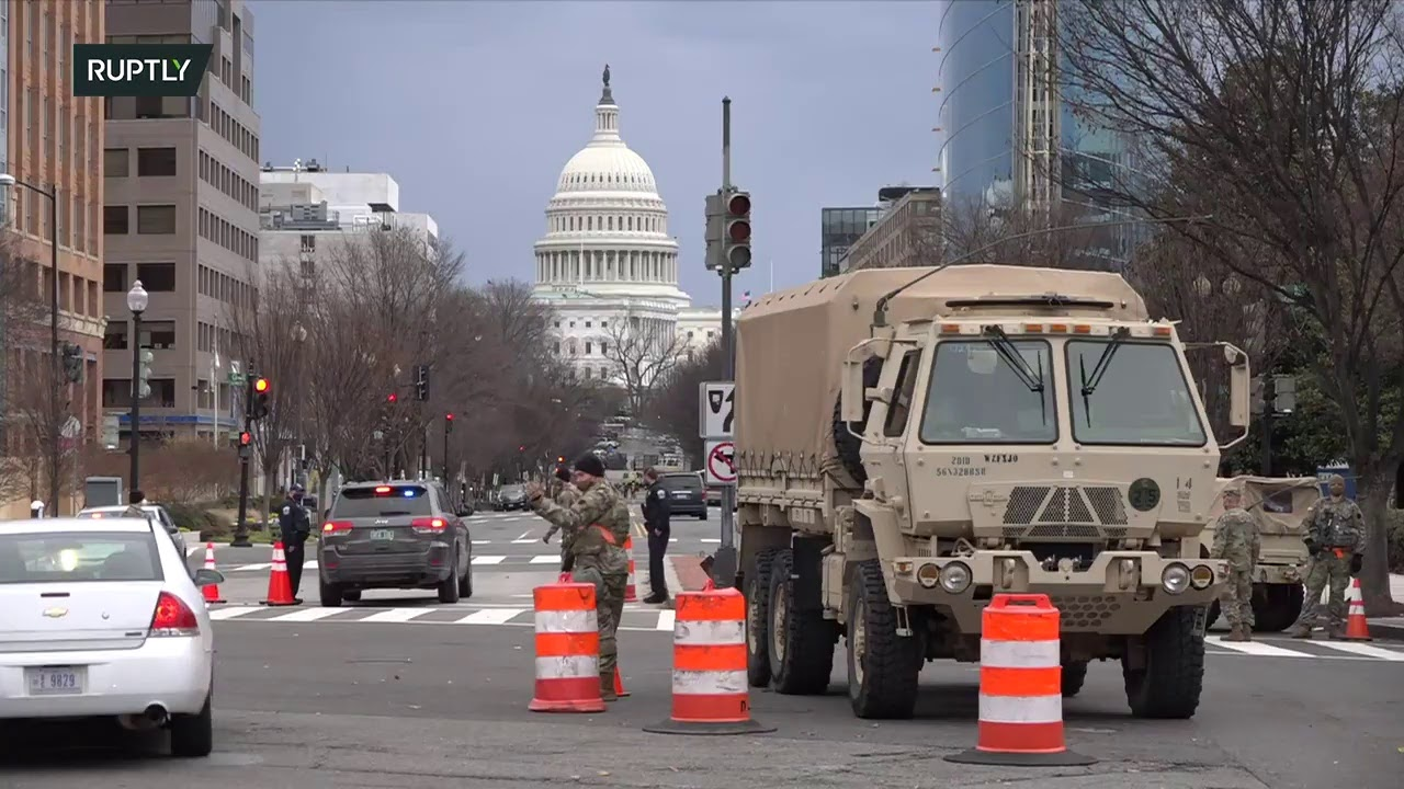 Live from DC as city boosts security in preparation for Biden's inauguration