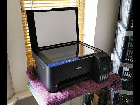 Epson EcoTank ET-2711 Refillable Ink Printer - Full Unboxing