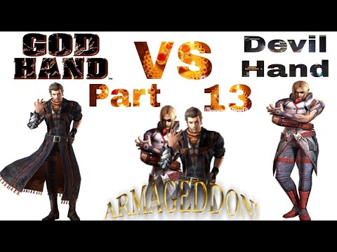 God Hand VS Devil Hand God Hand Super Powers | GODHAND PS4 Gameplay Part 13  1080p - YouTube