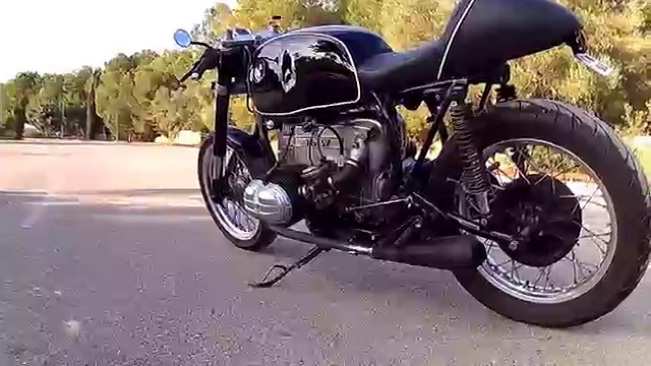Bien connu Cafe Racer Bmw r65 - YouTube DY47