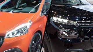2017 Peugeot 208 vs. 2017 Citroen C3