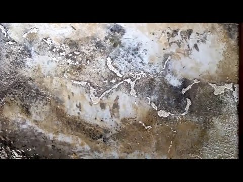Создание состаренного камня (мрамора) из декоративной штукатурки OIKOS