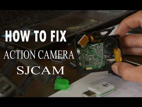 How to Fix Action Camera SJCam Error or Freeze