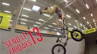 EESTI ESIMENE DOUBLE BACKFLIP BMXIGA⎟SEND IT FRIDAYS 13