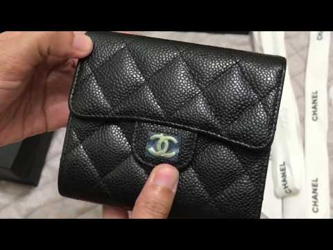 ba289318da CHANEL Classic Small Wallet | Unboxing - YouTube
