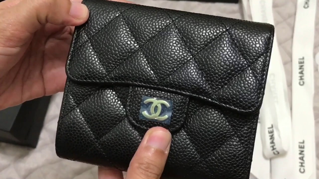 1c9f5c6edc2c CHANEL Classic Small Wallet | Unboxing - YouTube