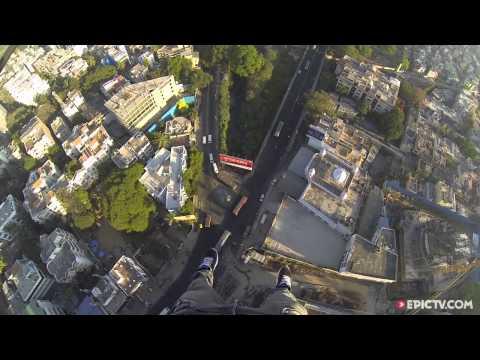 James Kingston Enjoys A Bangalore Sunrise...While Hanging Off A Crane | On the Edge, Ep. 3