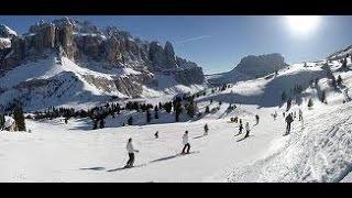 Val Gardena Dolomiti Italy Валь Гардена Италия  Трасса 11 Доломитовые Альпы(, 2013-01-21T14:56:35.000Z)
