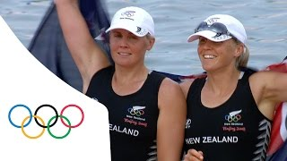 Top 5 closest Olympic Rowing finishes