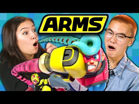 ARMS! | Nintendo Switch Tournament (Teens React: Gaming)
