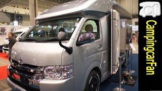 【トムタンデム】ハイエーススーパーロングベースのスタンダードキャブコン Japanese Campingcar Motorhome thumbnail