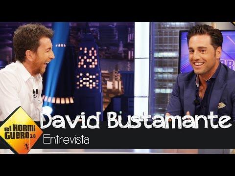 """David Bustamante: """"Me he enganchado al golf"""" en El Hormiguero 3.0"""