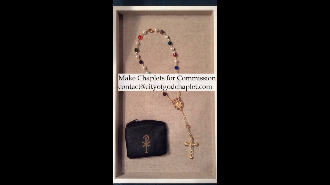 Introduction to Making the Mystical City of God Chaplet