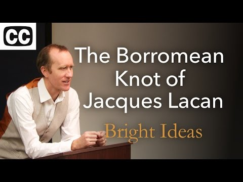 """""""The Borromean Knot of Jacques Lacan; Or, How to Beat Your Death Drive"""" a lecture by Aron Dunlap"""