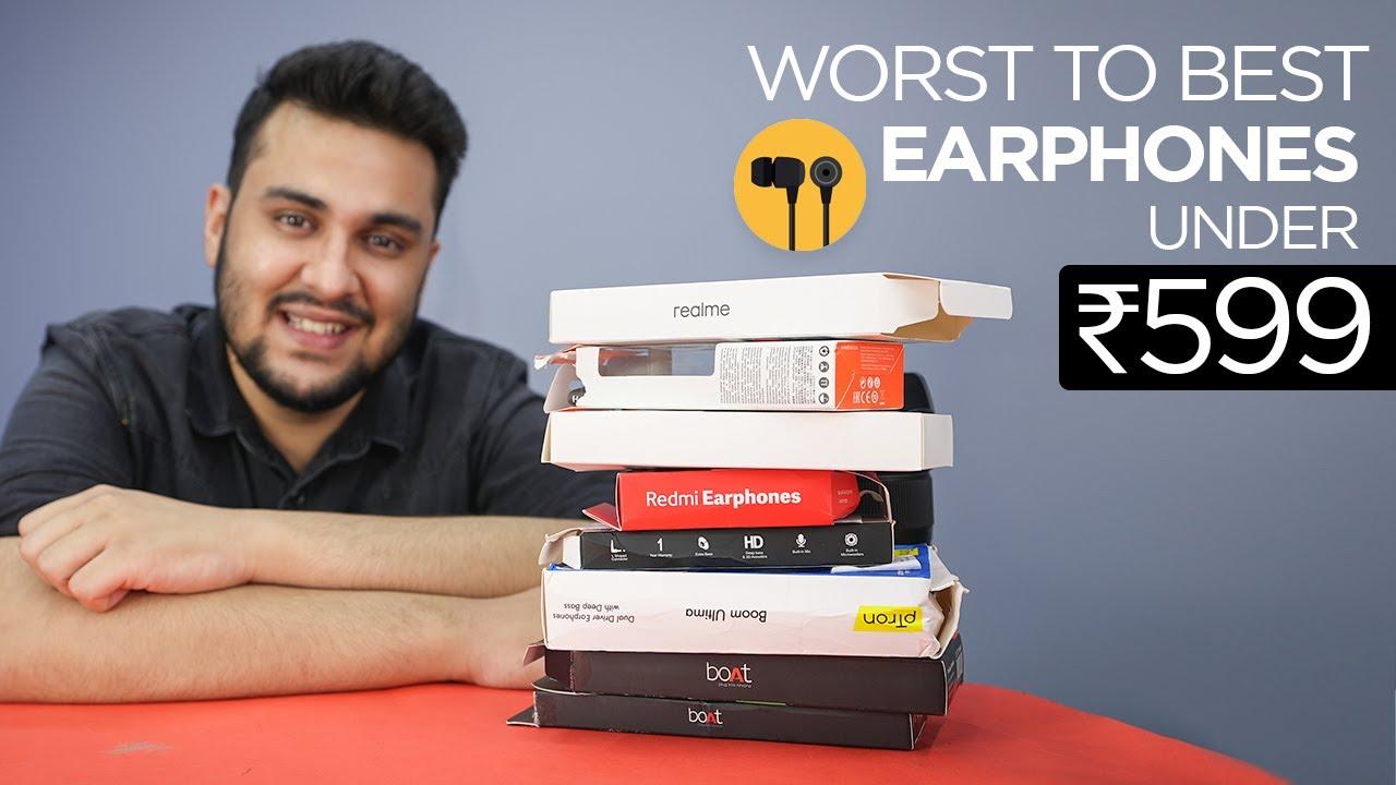 Ranking Amazon's Best Selling Earphones From Worst to Best | TechBar