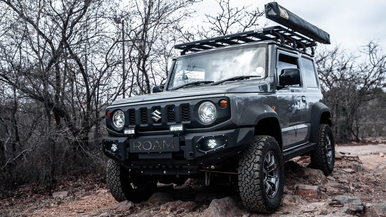 How Easy is it to Offroad in The New Suzuki Jimny??