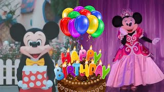 Download lagu Selamat Ulang Tahun Badut Disney Mickey Mouse & Minnie Mouse