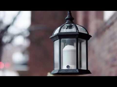 Lightcam A Security Camera Shaped Like A Light Bulb