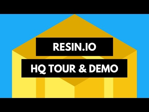Hackster Café: Resin.io Office Tour!