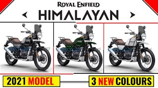 2021 Royal Enfield Himalayan is ready for launch | 3 New Colours | 2021 | Himalayan | Royal Enfield