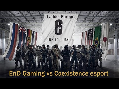 [R6S] Six Invitational 2018 Ladder Europe : EnD Gaming vs Coexistence esport
